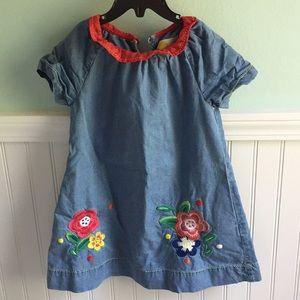 Mini Boden Dress 3-4 T